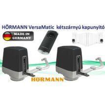 HÖRMANN VersaMatic kétszárnyú kapu meghajtás SZETT, ajándék SK biztonsági szettel