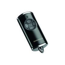 HSE 4 BS négygombos fényes fekete távirányító (króm sapkával)