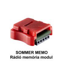 SOMMER MEMO rádió memória modul