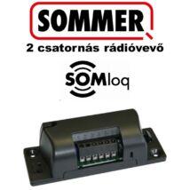 SOMMER 2 csatornás dobozolt rádióvevő