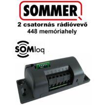 SOMMER 2 csatornás dobozolt rádióvevő 448 memóriahely