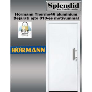 Hörmann bejárati ajtó  TP46 010 motívummal fehér színben