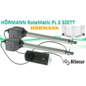 HÖRMANN Rotamatic PL 2 Szárnyas kapunyitók SZETT