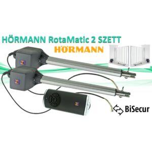 HÖRMANN Rotamatic 2 kétszárnyú kapunyitó SZETT