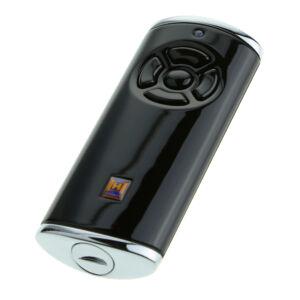 Hörmann HS 5 BS ötgombos távirányító, fényes fekete színben (króm sapkákkal)