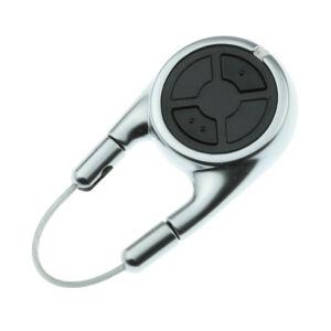 Hörmann HSD 2 BS alu kétgombos kulcskarikaként is használható távirányító