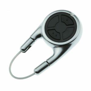 Hörmann HSD 2 BS króm kétgombos kulcskarikaként is használható távirányító