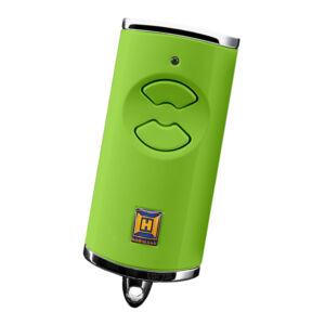 HSE 2 BS kétgombos mikro távirányító, zöld színben