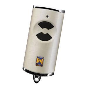 Hörmann HSE 2 BS kétgombos mikro távirányító ezüst színben (króm sapkával)