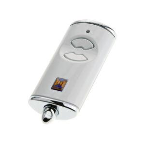 HSE 2 BS kétgombos mikro távirányító fényes fehér színben