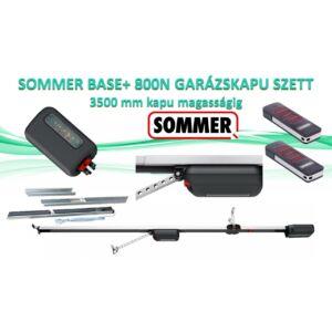 SOMMER BASE+ 800N GARÁZSKAPUNYITÓ SZETT 1096 mm-es síntoldóval