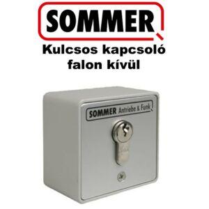 SOMMER Kulcsos kapcsoló cilinderzárral