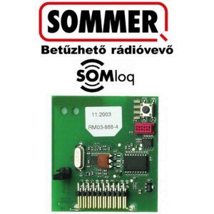 SOMMER Betűzhető 4 csatornás rádióvevő