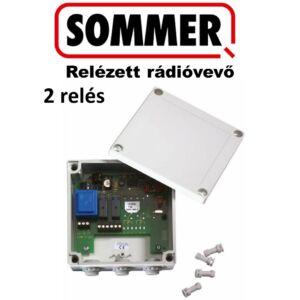SOMMER Relézett rádióvevő, 2 relés kivitel