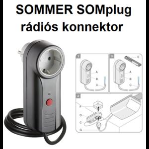 SOMMER SOMplug rádiós konnektor