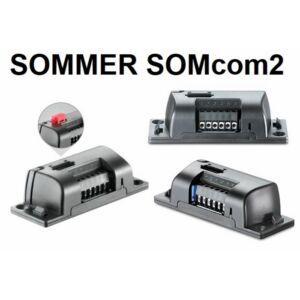 SOMMER SOMcom2- 2 csatornás dobozolt rádióvevő
