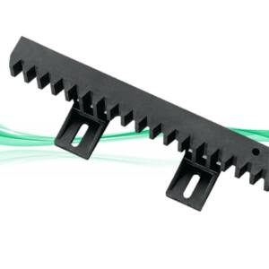 Erősített műanyag fogasléc 6 alsó füles 1 méteres