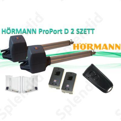 HÖRMANN ProPort D kétszárnyú kapunyitó SZETT