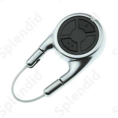 HSD 2 BS alu kétgombos kulcskarikaként is használható távirányító