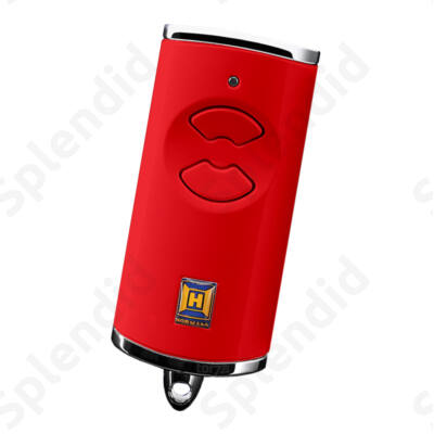 HSE 2 BS kétgombos mikro távirányító piros színben