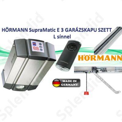 Hörmann SupraMatic E 3 garázskapu meghajtás L sínnel