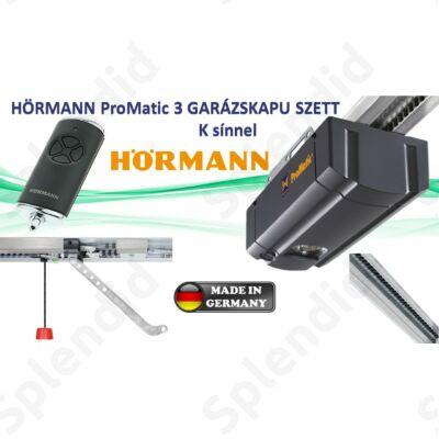 Hörmann ProMatic 3 garázskapu meghajtás K sínnel
