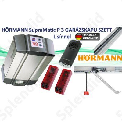 Hörmann SupraMatic P 3 garázskapu meghajtás L sínnel