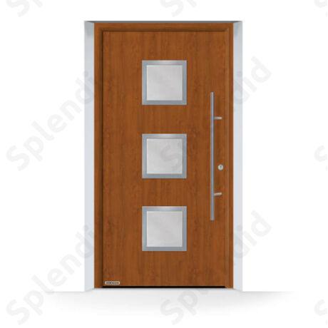 Thermo65 700F RAL9016 fehér bejárati ajtó