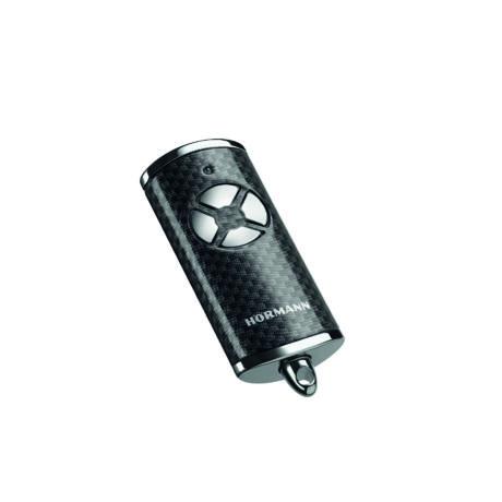HSE 4 BS négygombos magasfényű króm karbon távirányító (króm sapkával)
