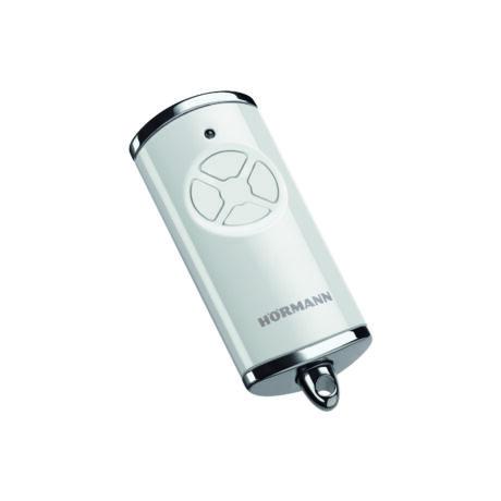 HSE 4 BS négygombos fényes fehér távirányító (króm sapkával)