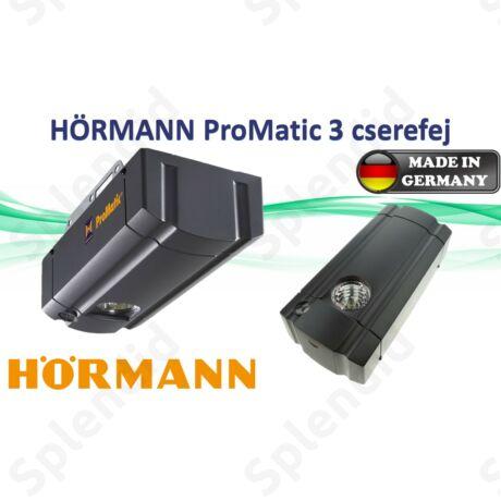 Hörmann ProMatic 3 garázskapu cserefej