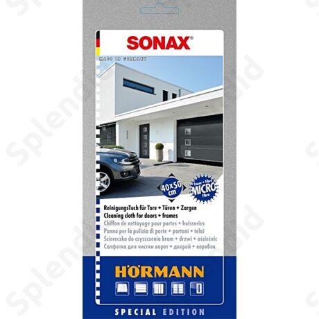 Sonax speciális tisztítókendő Hörmann kapuhoz és ajtóhoz