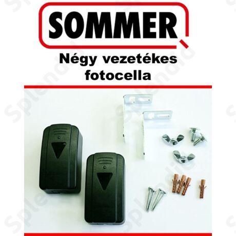 SOMMER Fénysorompó, négy vezetékes