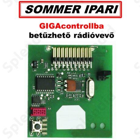 SOMMER GIGAcontrollba betűzhető rádióvevő
