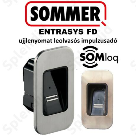 SOMMER ENTRAsys FD ujjlenyomat leolvasó