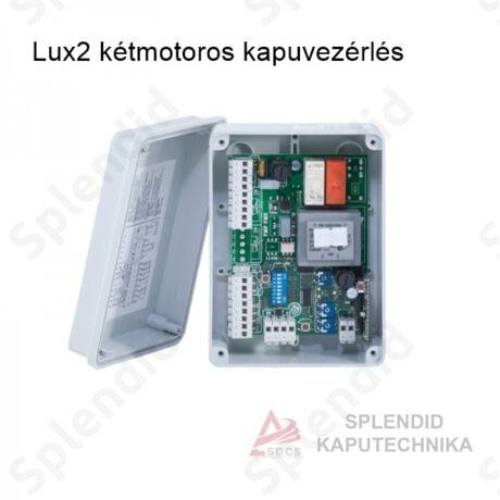Lux2 kétmotoros kapuvezérlés