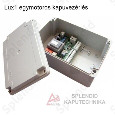 Lux1 egymotoros kapuvezérlés
