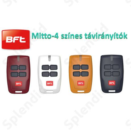BFT Mitto-4 távirányító 4 színben